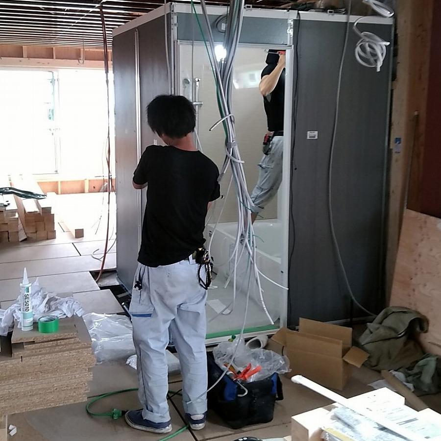 住宅設備施工